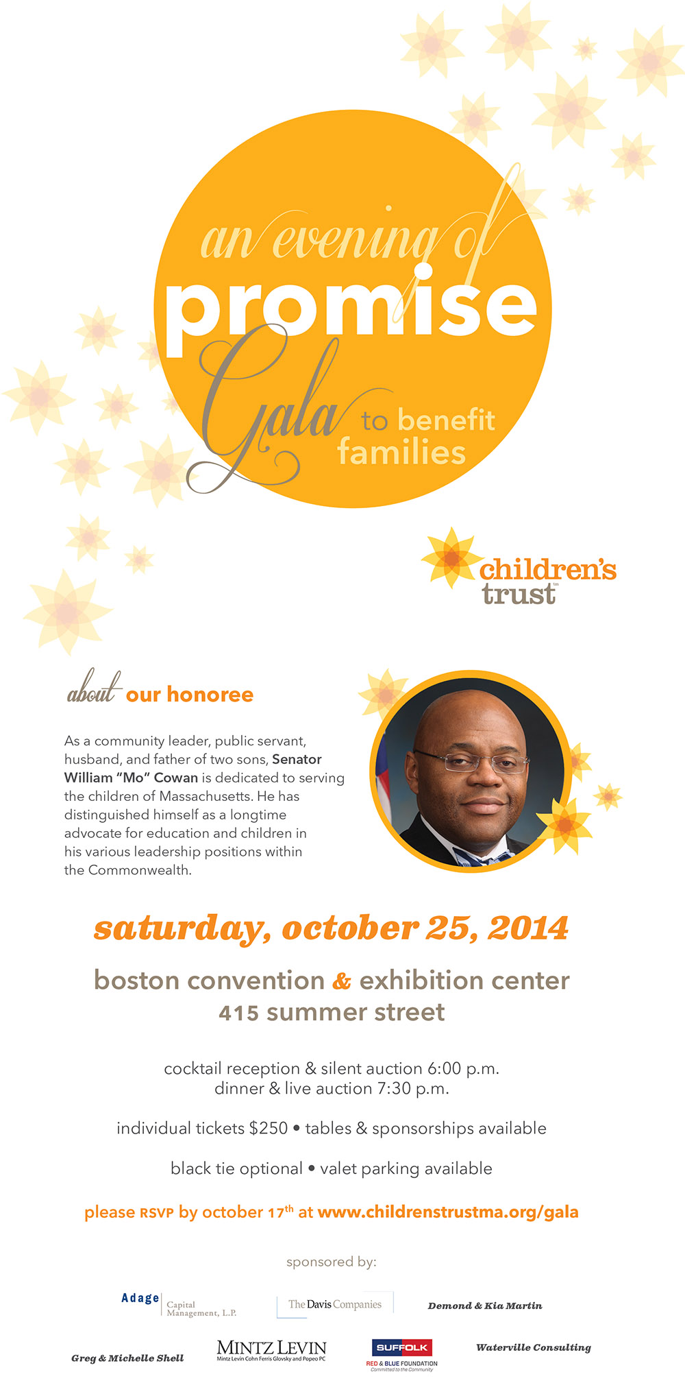 An Evening of Promise: Gala to Benefit Families