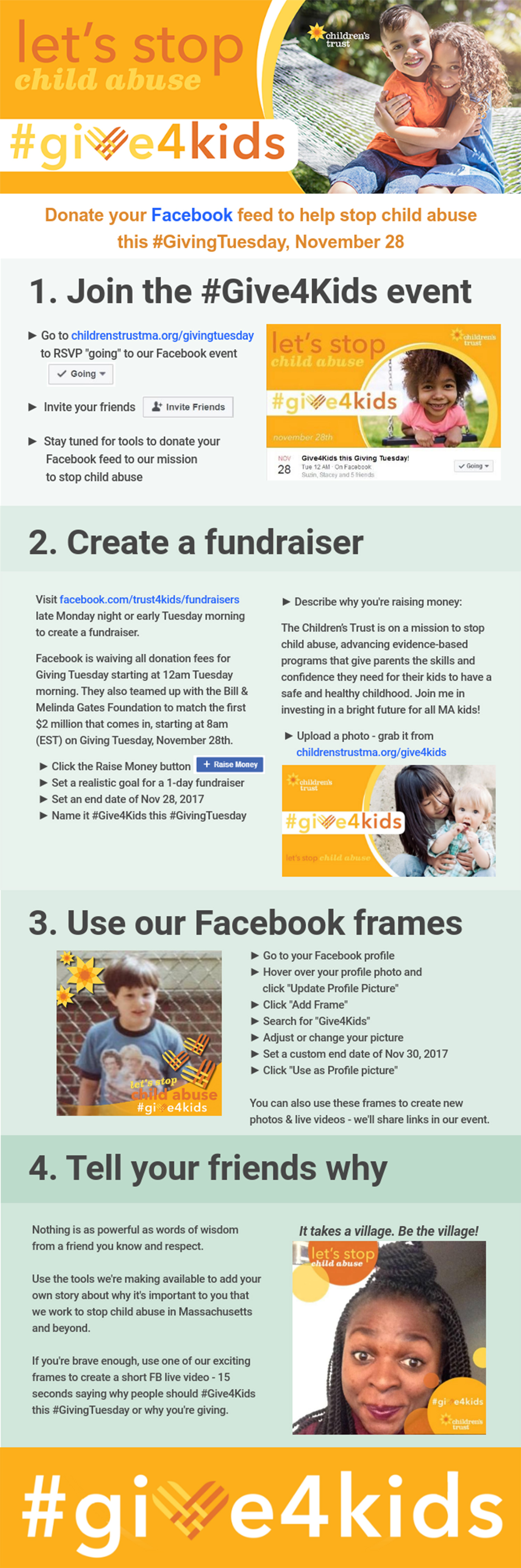 Give4Kids Infographic