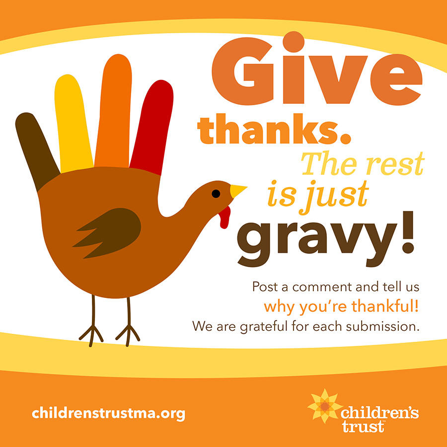give thanks, the rest is just gravy!