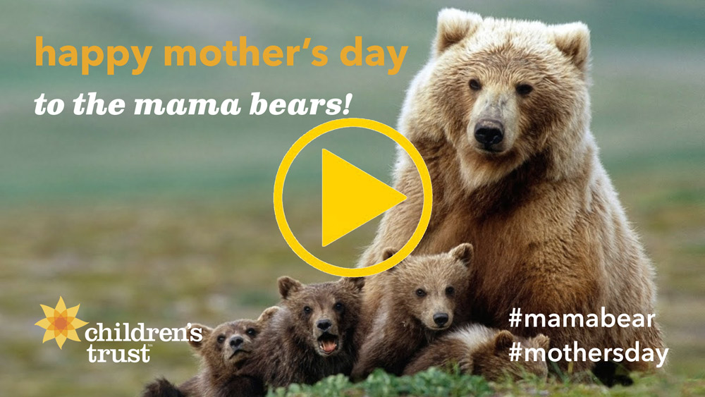 happy mother's day to the mama bears!