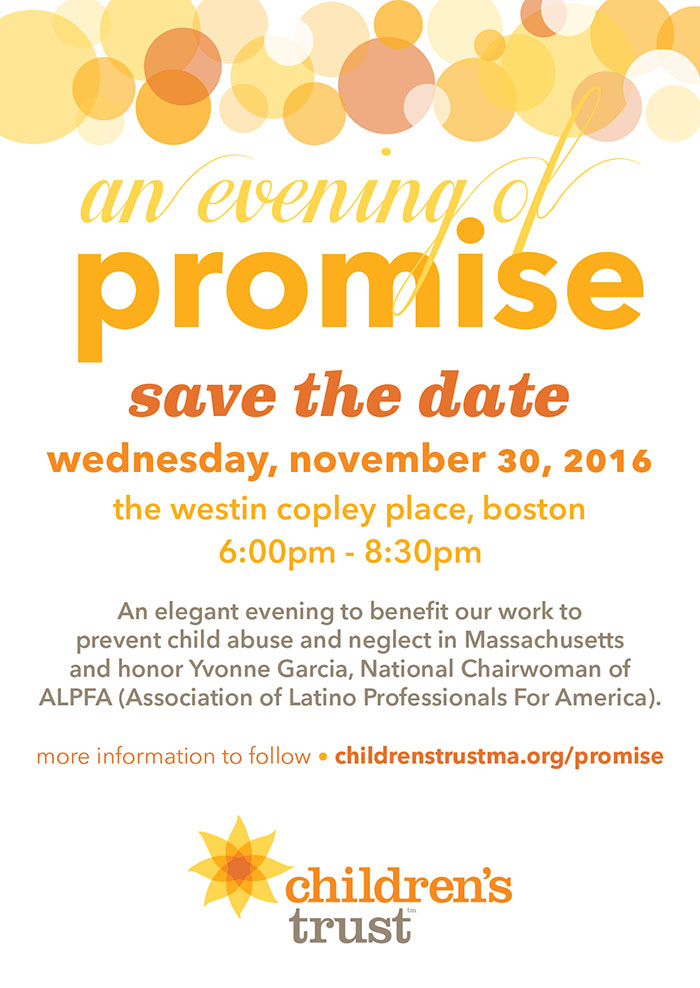 An Evening of Promise - Wednesday, November 30, 2016
