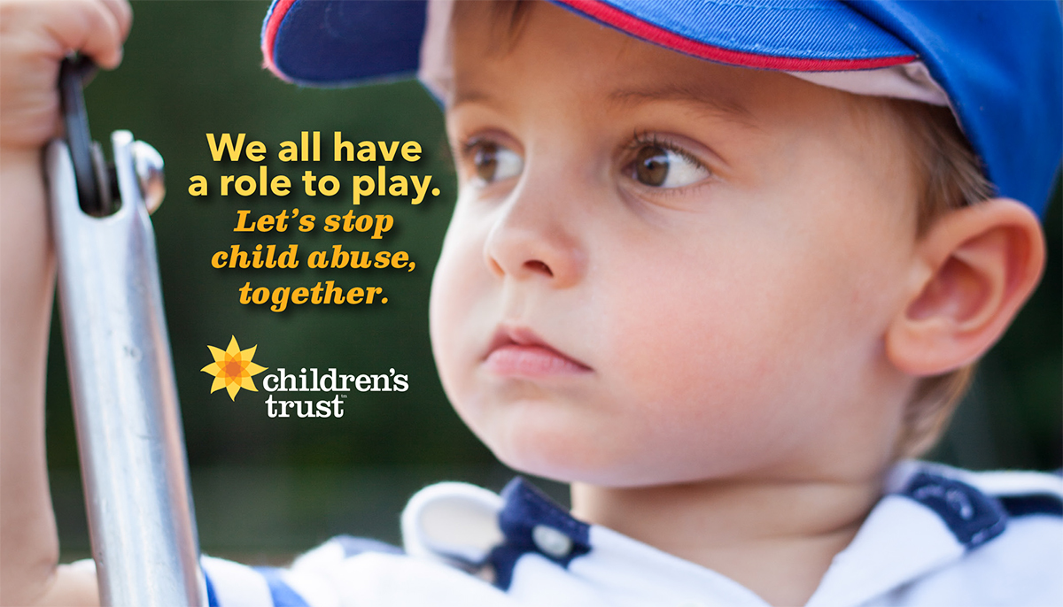 we all have a role to play - let's stop child abuse, together